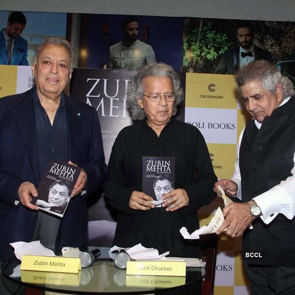 Zubin Mehta's book launch