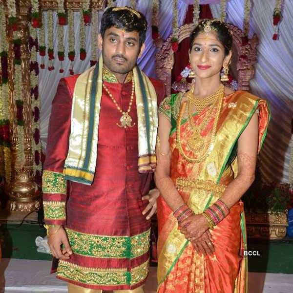Sri Divya weds S Sai Nikhilesh