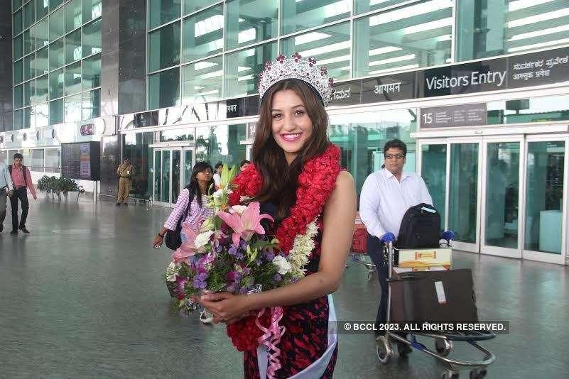 Miss Diva 2015 1st runner-up Natasha's homecoming