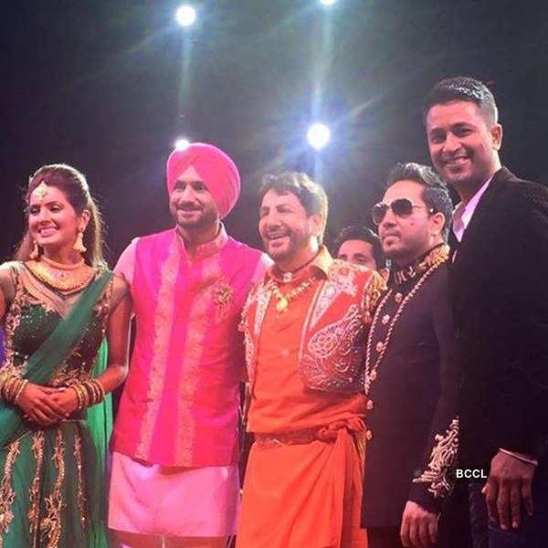 Harbhajan, Geeta's wedding ceremony
