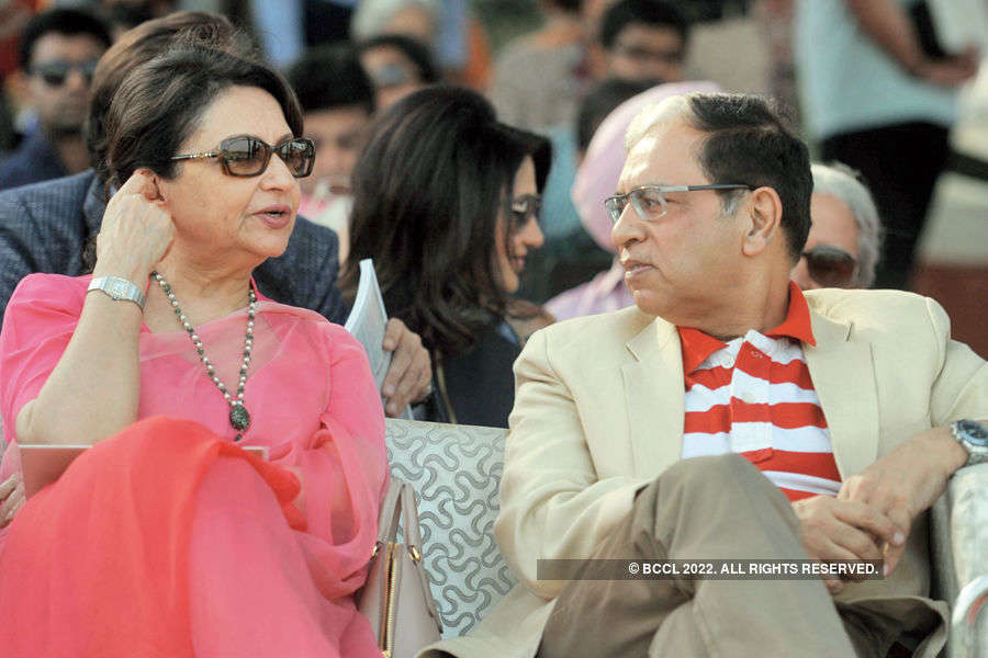 Celebs @ polo match