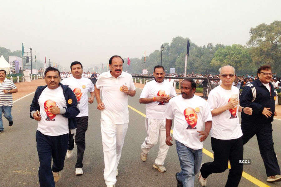 PM Modi flags off Run For Unity