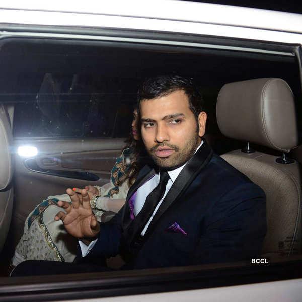 Harbhajan, Geeta's wedding reception