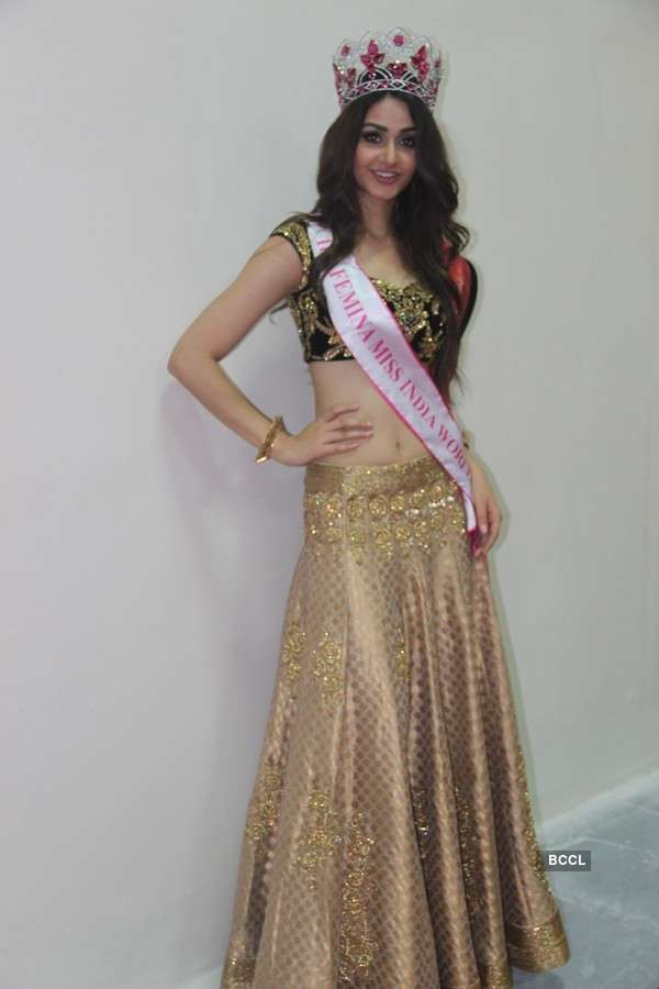 Miss India World 2015 Aditi Arya at the BETI event