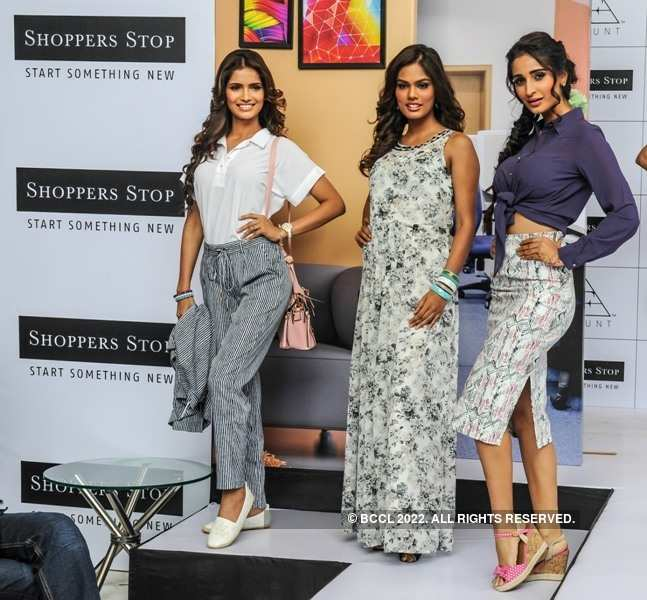 Beauty queens attend the launch of Femina FLAUNT's A/W 15 collection