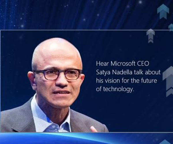 In pictures: Microsoft CEO Satya Nadella in India
