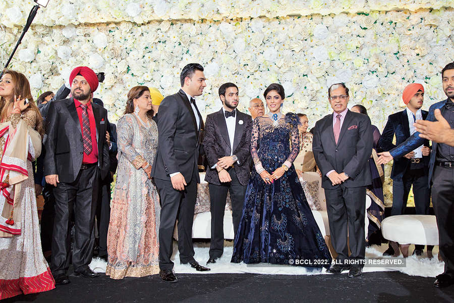 Navraj & Sahiba's wedding reception