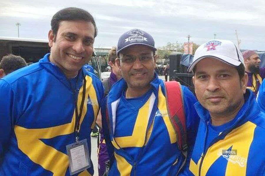 Cricket All-Stars: Candid Shots