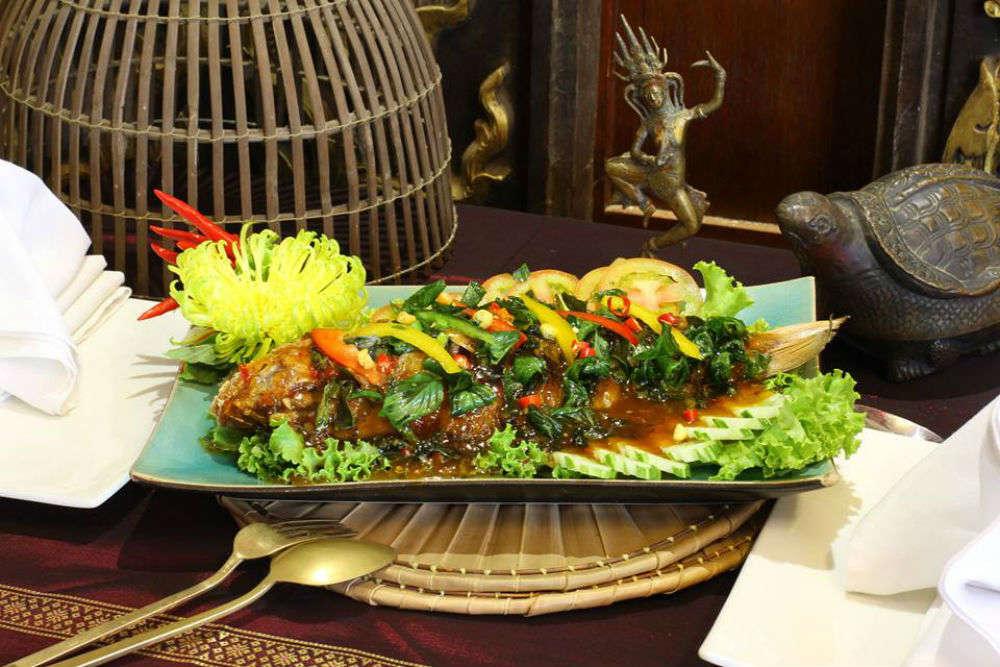 Lemongrass, Phnom Penh - Times of India Travel