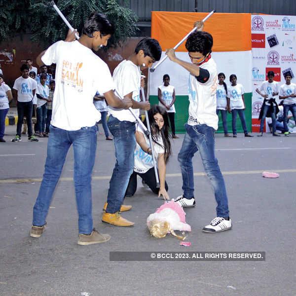 NGO event at Jantar Mantar