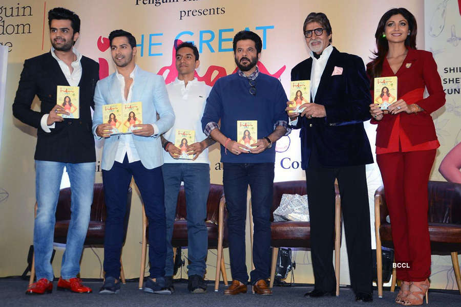 Celebs at Shilpa's book launch