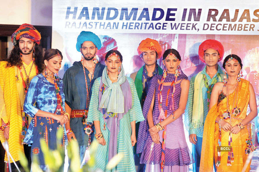 Rajasthani fashion @ Bikaner House