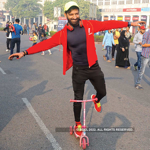 Raahgiri Day at Connaught Place