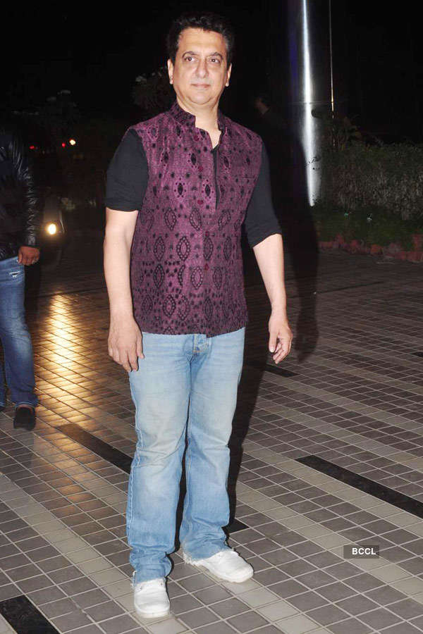 Sajid Khan's birthday party