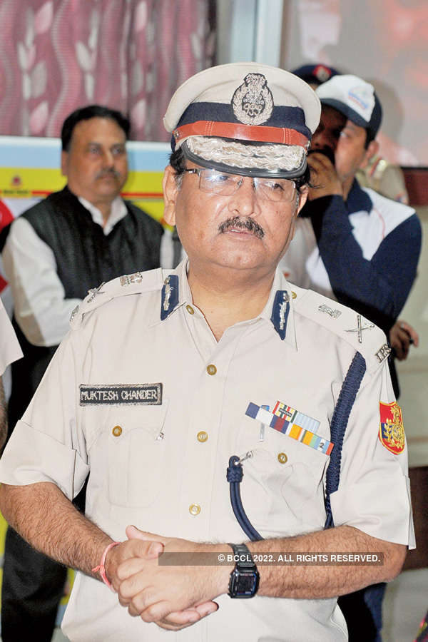 Delhi Traffic Police pavilion @ IITF 2015
