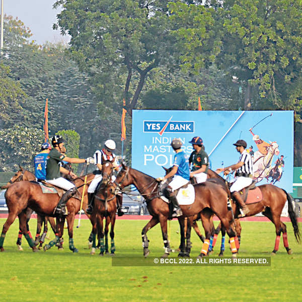 Yes Bank Indian Masters Polo 2015