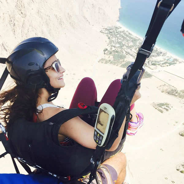 Alia Bhatt enjoys the fresh air