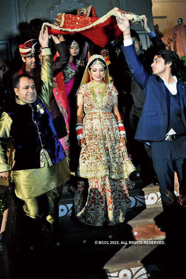 Aniruddh, Shubhi's wedding
