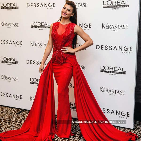 Jacqueline at Dessange anniv. party