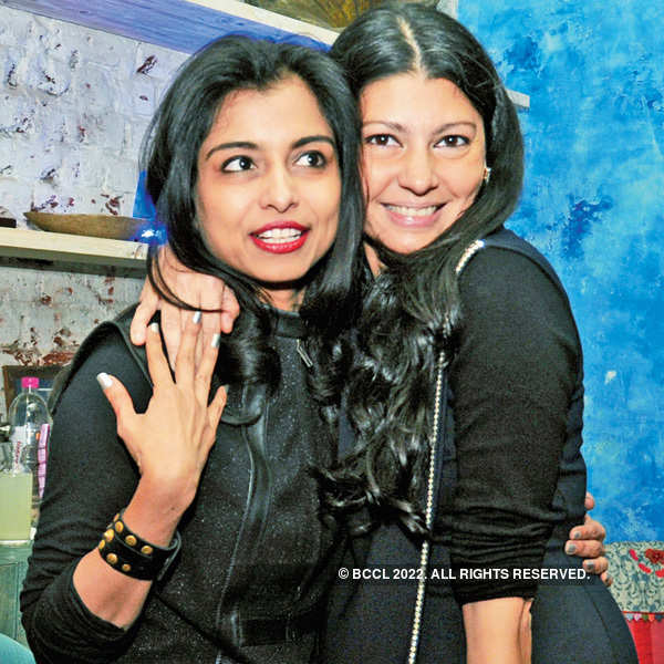 Ambika Pillai's birthday party