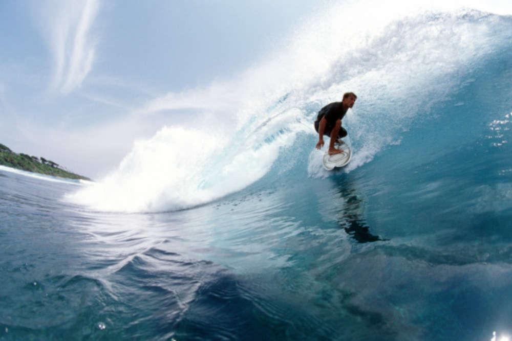 Go surfing in Varkala