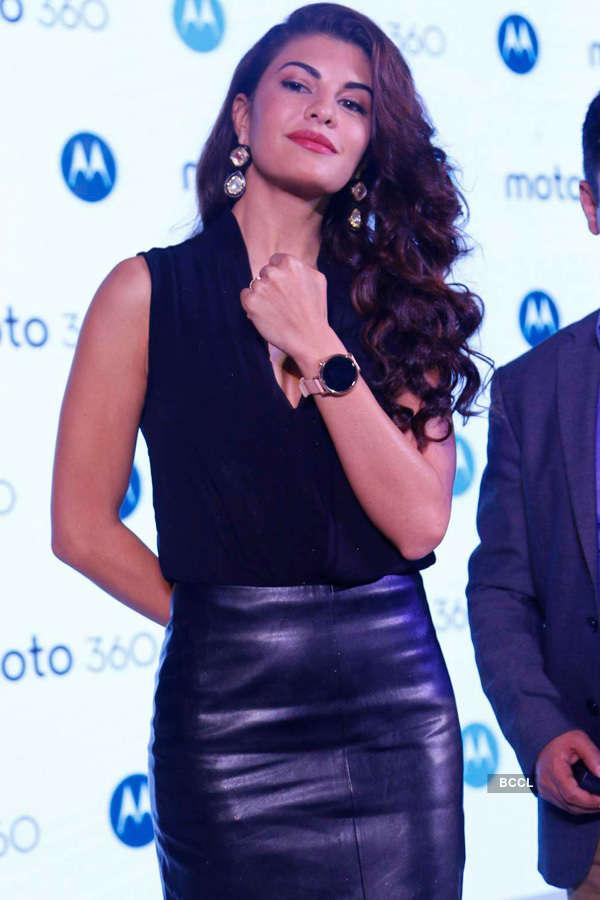 Jacqueline launches Moto 360 smartwatch