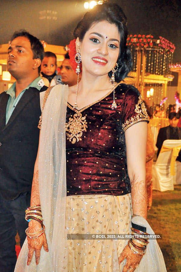 Aviral, Apoorva's wedding reception