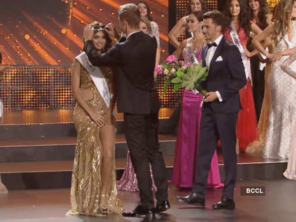 Aafreen Vaz wins Miss Asia title at Miss Supranational