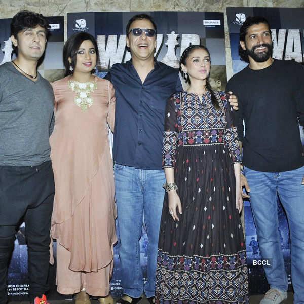 Wazir: Song launch