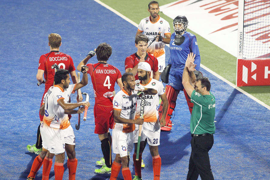 HWL Final: Belgium beat India