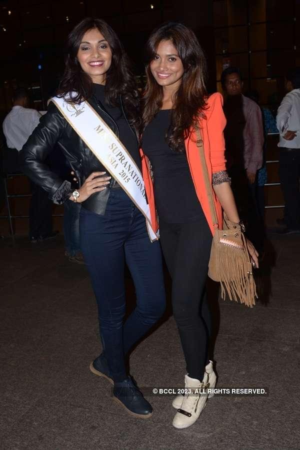 Beauty queen Aafreen Vaz's homecoming