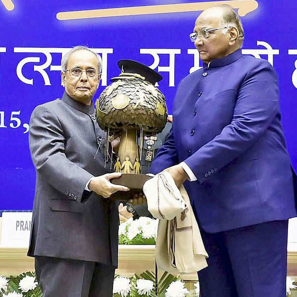 Sharad Pawar celebrates 75th b'day