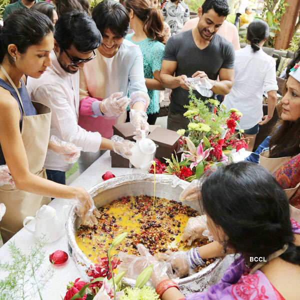 Ram Charan @ Vegan Healthy Menu launch