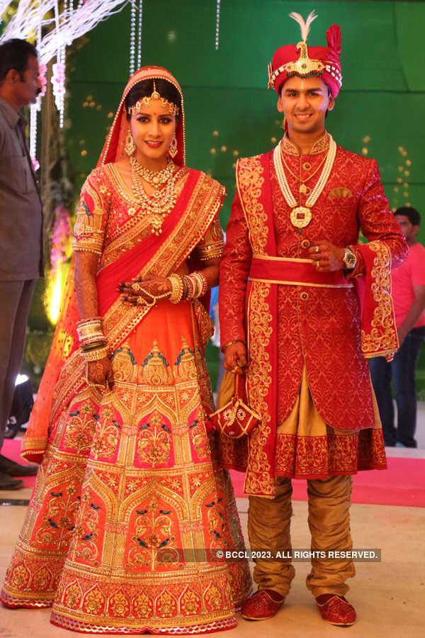 Ankit & Trupti's wedding ceremony