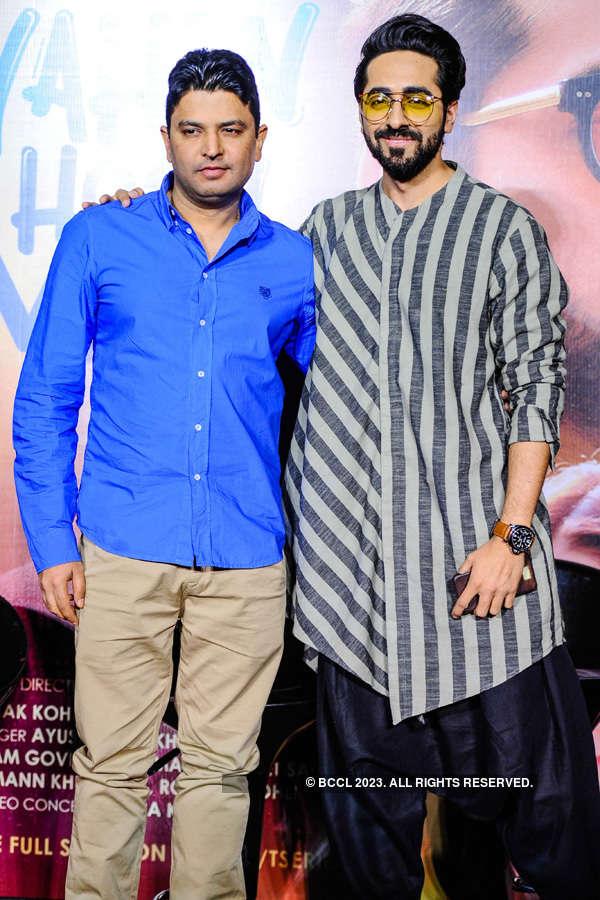 Ayushmann Khurrana's song launch