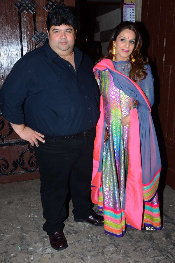Celebs at Anil Kapoor's b'day party