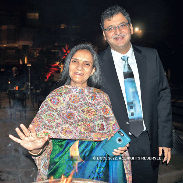 Anamika & Sunil's farewell party
