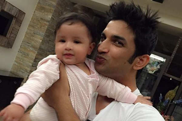 Image result for sushant singh rajput baby""