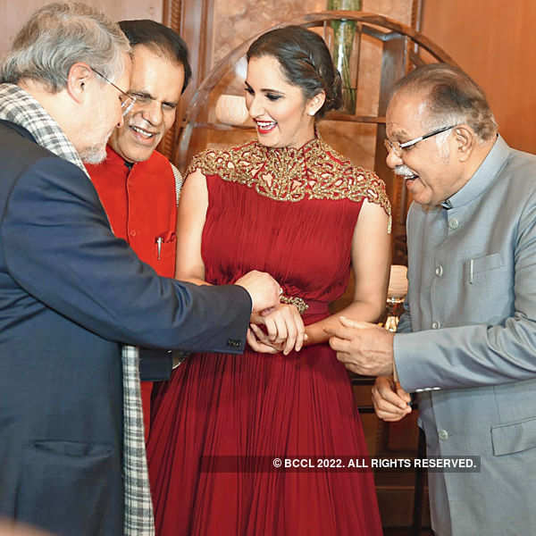Sania's felicitation ceremony