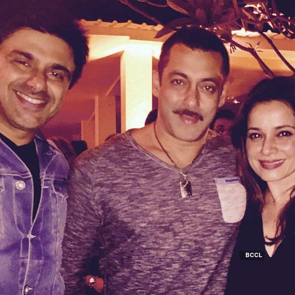 Salman Khan's 50th birthday party