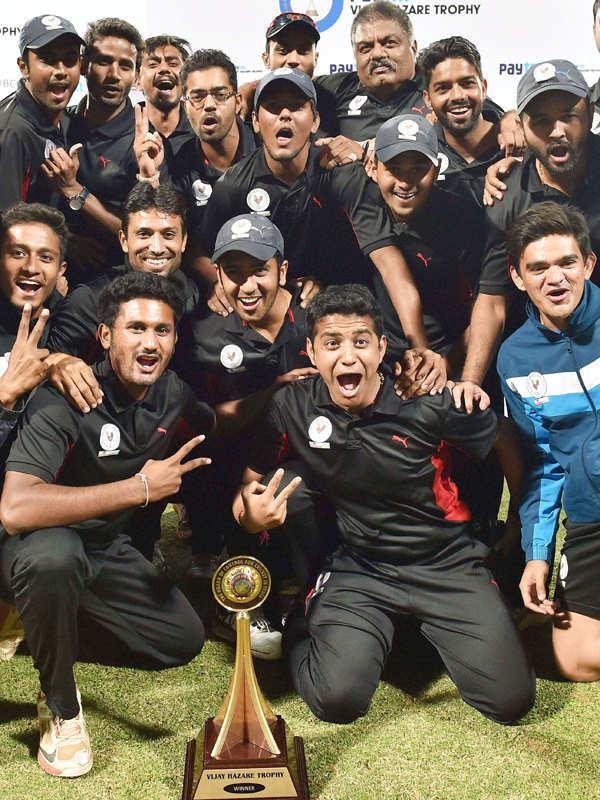 Gujarat win Vijay Hazare Trophy