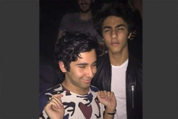 Aryan Khan parties hard with friends