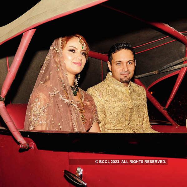 Saif and Fatima's wedding reception