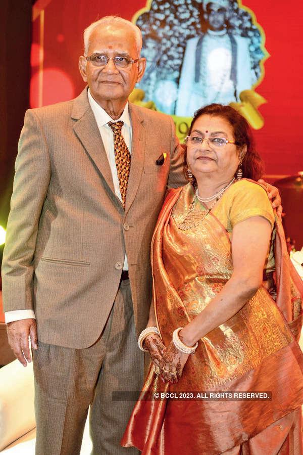 Kishanlal & Sarala's golden jubilee anniv.