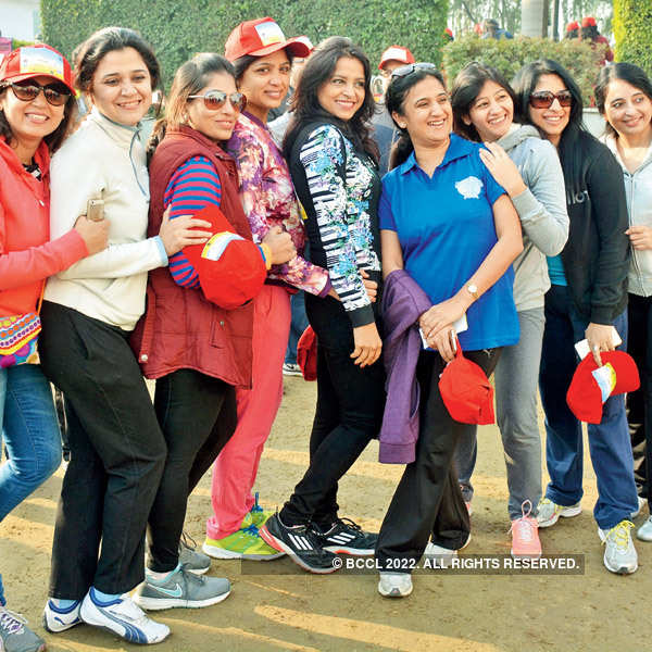 Walkathon in the city