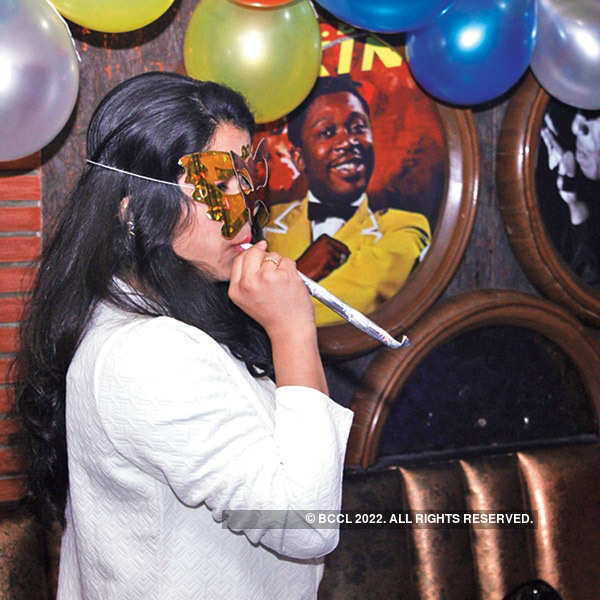 New Year @ Cafe Blues