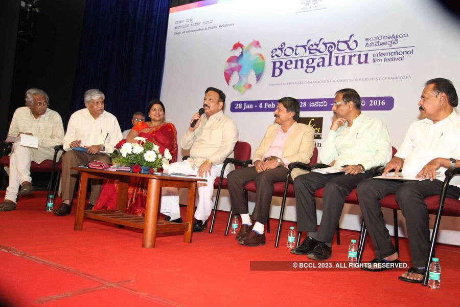 Bangalore International Film Festival: Press meet