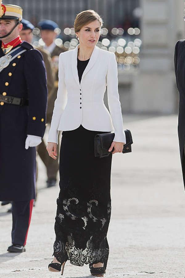 Spanish Royals @ New Year's Military Parade