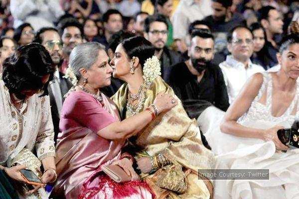 Jaya Bachchan and Rekha call it a truce?