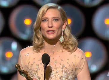 Cate Blanchett gets candid with Kimmel